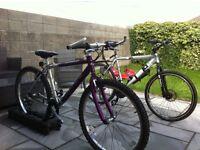 His and hers trail bike
