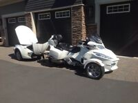 2012 Spyder RT Ltd & Matching trailer-4952 kms