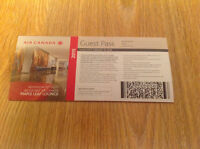 Air Canada Maple Leaf Lounge Guest Passes