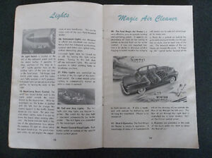 1950 Ford glove box owner's manual London Ontario image 3