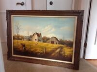 "Painting "" country farm"""