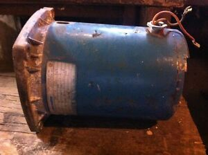 1/3 HP Electric Motor - Rebuilt