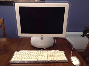 Imac G4 17pouces 1ghz 80GB clavier et souris - PROPRE
