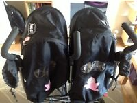 Cosatto duo double pushchair/pram for twins