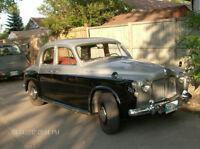 Rover p4-100 the car is in Winnipeg