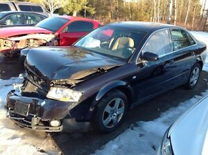 PARTING OUT 2003 AUDI A4 3.0 QUATTRO