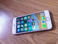 iPhone 6s Rose Gold In Great Condition