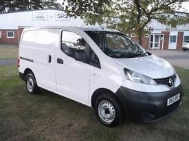 2013 NISSAN NV200 1.5 DCI 89 SE VAN 6 DOOR PANEL VAN