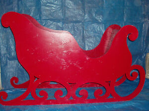 Hand-painted wooden Christmas lawn ornaments London Ontario image 3