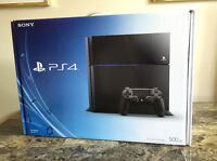 Brand New in Box PS4 Sony PlayStation 4 One-Year Warranty $400