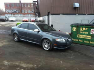 2008 Audi S4 Berline 6sp 0 taxe fresh engine out service