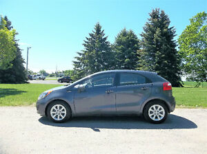 2013 Kia Rio 5 LX- Hatchback.  ONE OWNER & JUST 61K!!  $9950