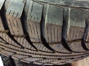 4 New 245/60R18 Winter ice snow tires 245/60/18 with 99% tread