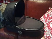 Icandy Peach Blossom carrycot Jet