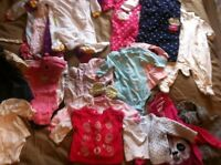 0-3m winter bundle for baby girl