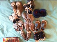 Babies shoe bundle includes Adidas and converse £10