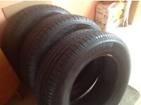 3 brand new car tyres - £40 each or 3 for £100