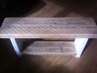 Rustic Farmhouse Bench
