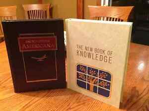 Encyclopedia America & The New Book of Knowledge