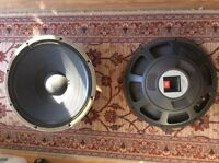 JBL professional series 2225H speakers