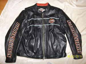 Mens Leather Harley Davidson Jacket XXL