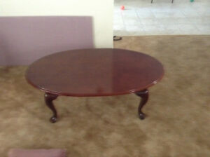 Bombay furniture coffee table and end tables