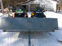 2 SLEDS WITH TRAILER PACKAGE