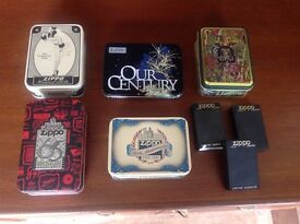 Very rare collection ZIPPO lighters boxed limited/special edition