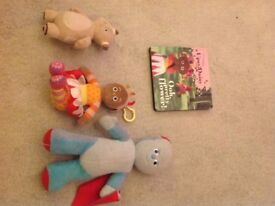 In the night garden toy bundle