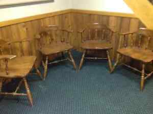 Chairs Set of four captains chairs