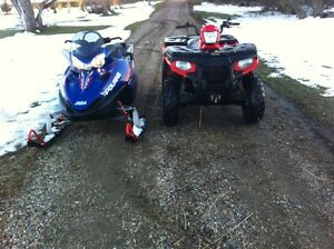 Atv-sled package