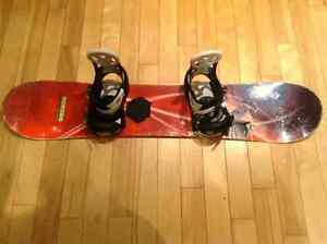 Burton Board 121cm & Burton bindings