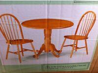 2 Pine Chairs