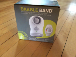 """Wearable/ portable/ rechargeable  """"Baby monitor"""""""