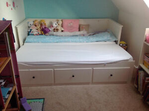 Ikea Day bed with three drawers