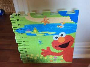Sesame Street growth chart