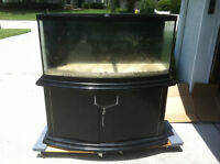 Looking For A 75-100 Gallon BOWFRONT Fish Tank, Stand, pump etc.