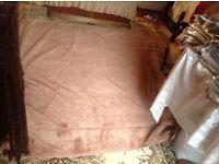 Uni dana velvet blanket for double bed £10 used