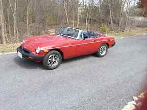 Summer ready 1978 MGB