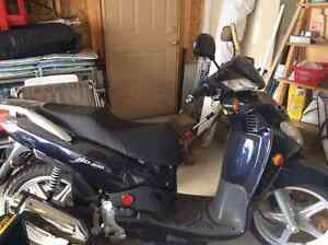 2009 SYM HD200 Scooter