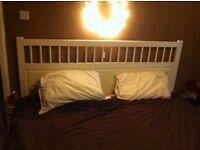 Super King size bed - Ikea Hemnes