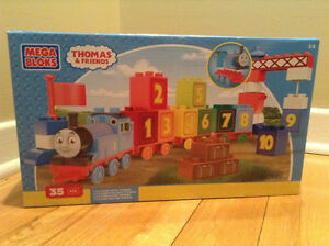 """THOMAS & FRIENDS"" 35 PIECE MEGA BLOKS TOY.....NEW!"