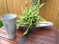 New design metal set for plants