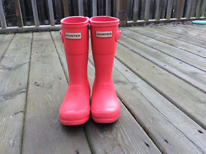 Child HUNTER Boots size 12/ 28EU