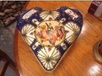 WW1 Sweetheart Pin/Bead Cushion