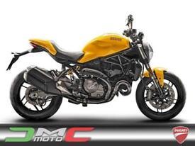 2017 Ducati Monster 821 Ex-Demo Yellow 176 Miles