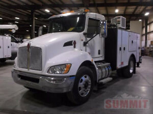 New 2018 Kenworth T70 with 11-ft Summit Service Body