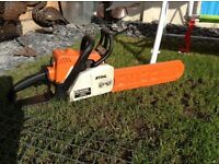 STHIL PETROL CHAIN SAW