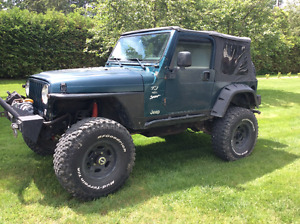 1997 Jeep TJ Lifted with 35's