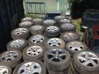 Alloys wheels for sale for most makes of cars